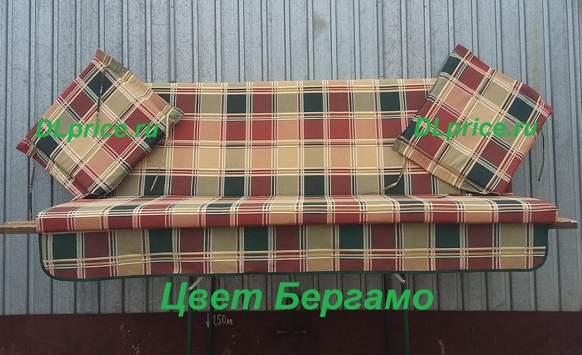 Матрасы для качелей Торнадо 180*60 см. Цвет Бергамо
