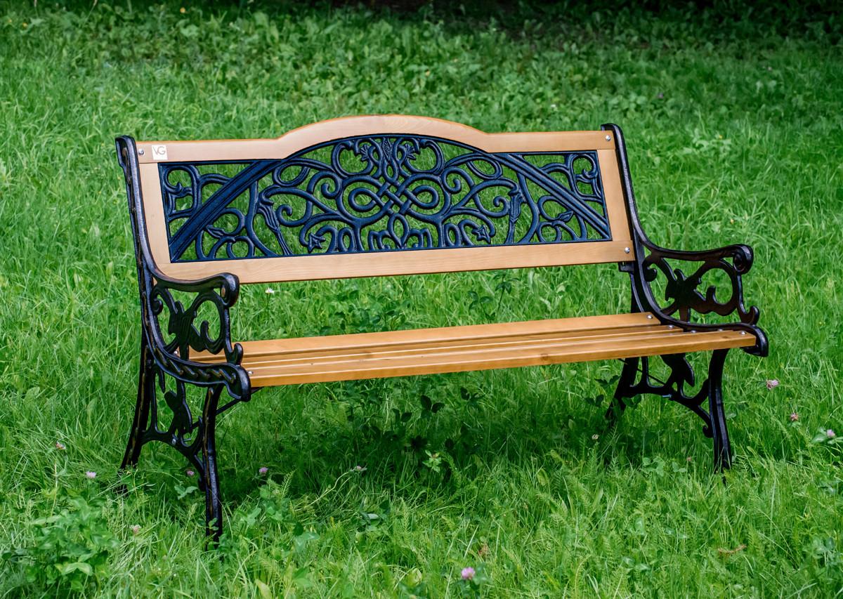 Садовая скамейка Арабеска купить в Москве