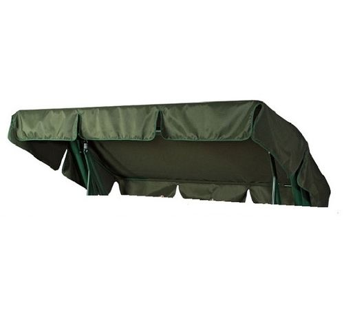 Тент-крыша для садовых качелей Титан зелёный