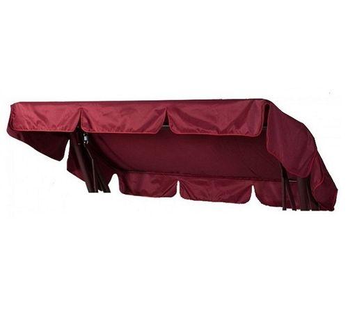 Тент-крыша для садовых качелей Титан бордовый